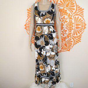 Vintage Alex Colman 60's Hawaiian Dress S/M